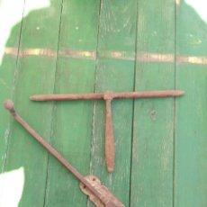 Antigüedades: CERROJOS ANTIGUOS ORIGINALES. Lote 156663168