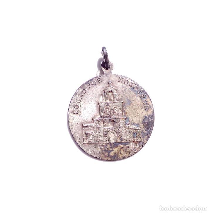 MEDALLA SANTA MARIA DE ESTIBALIZ (Antigüedades - Religiosas - Medallas Antiguas)