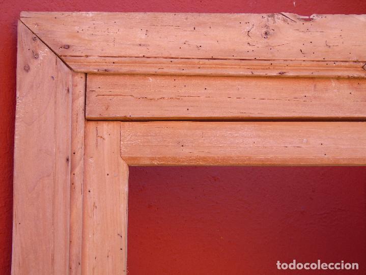 Antigüedades: ANTIGUO ESQUINERO DE MADERA, ESTRUCTURA. TOTALMENTE LIMPIO. - Foto 7 - 156715918