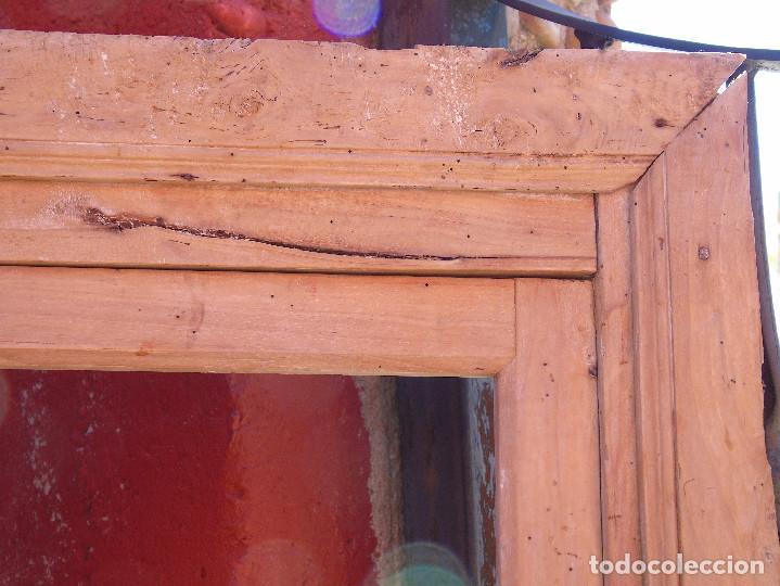 Antigüedades: ANTIGUO ESQUINERO DE MADERA, ESTRUCTURA. TOTALMENTE LIMPIO. - Foto 8 - 156715918