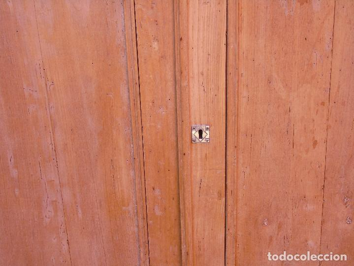 Antigüedades: ANTIGUO ESQUINERO DE MADERA, ESTRUCTURA. TOTALMENTE LIMPIO. - Foto 12 - 156715918