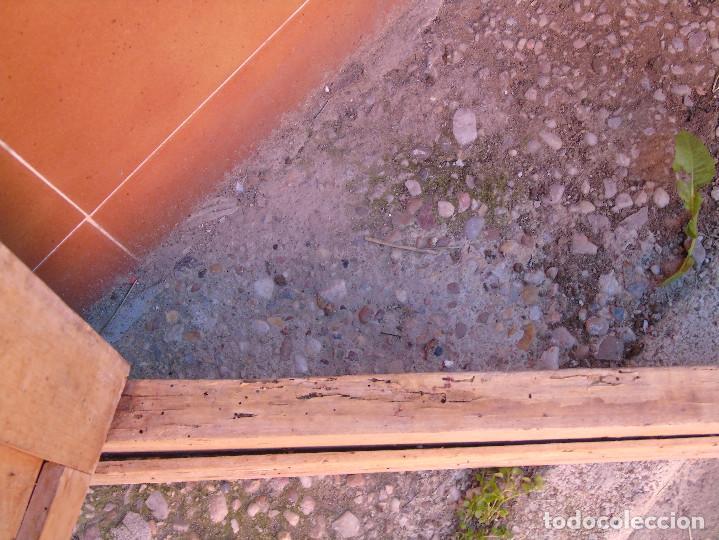 Antigüedades: ANTIGUO ESQUINERO DE MADERA, ESTRUCTURA. TOTALMENTE LIMPIO. - Foto 15 - 156715918
