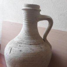 Antigüedades: ANTIGUO CANTARO DE CERÁMICA- SELLO LEBRIJA SEVILLA- CENTENARIO. Lote 156734386