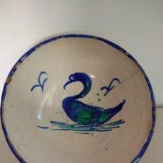 Antigüedades: LEBRILLO - BARRO VIDRIADO (SIGLO XIX). Lote 156742234