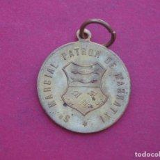Antigüedades: MEDALLA ANTIGUA SAN MARCIAL PATRÓN DE MARRATXI. MALLORCA.. Lote 156757474