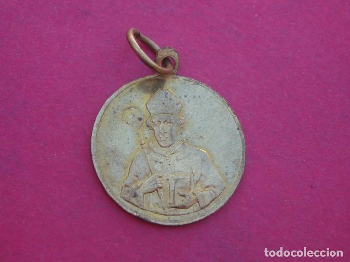 Antigüedades: Medalla Antigua San Marcial Patrón de Marratxi. Mallorca. - Foto 2 - 156757474
