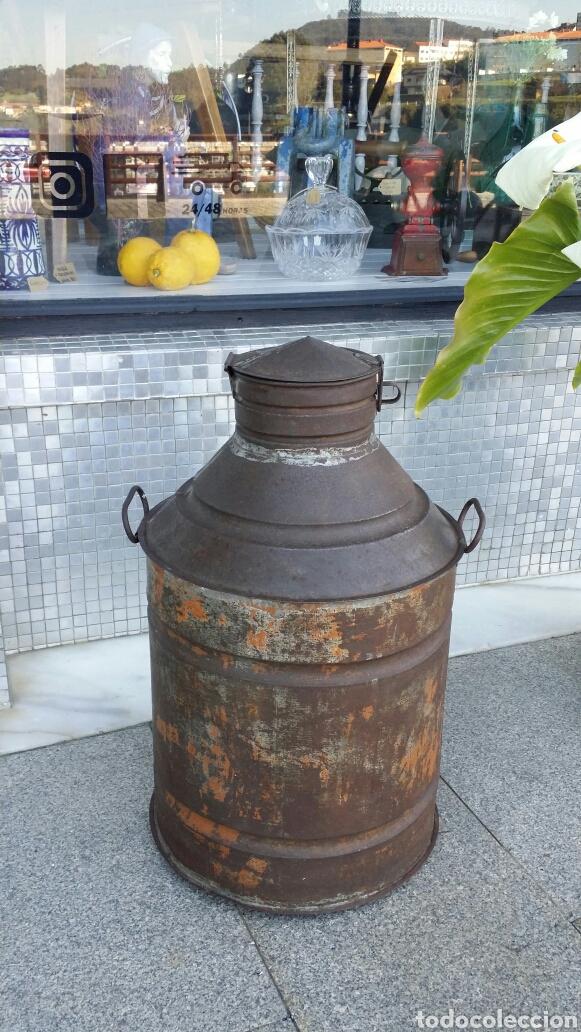 Antigüedades: Antigua aceitera industrial - Foto 2 - 156784954