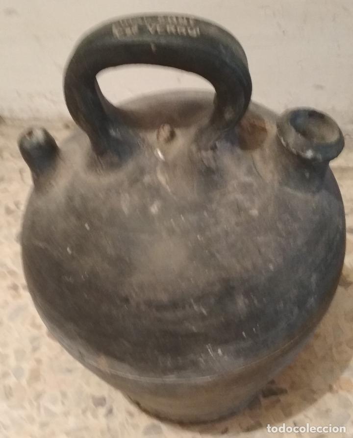 BOTIJO CERAMICA VERDU ( LLEIDA). JOSE FONT (Antigüedades - Porcelanas y Cerámicas - Catalana)