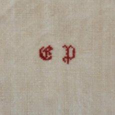 Antigüedades: ANTIGUA TOALLA DE LINO PPIO.S.XX. Lote 156804002