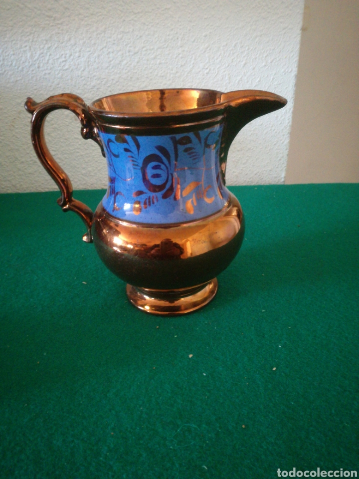 JARRA DE BRISTOL (Antigüedades - Porcelanas y Cerámicas - Inglesa, Bristol y Otros)