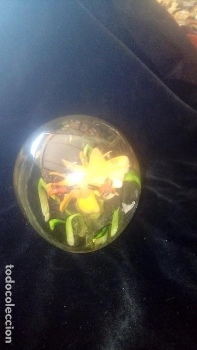 Antigüedades: Pisapapeles de cristal de Murano. - Foto 2 - 156813874
