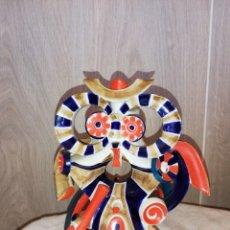 Antigüedades: BUHO CERAMICA DE SARGADELOS. Lote 156814970
