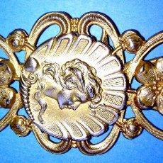 Antigüedades: PRECIOSA HEBILLA DE CINTURON, MODERNISTA - ART NOUVEAU, DE FINALES SXIX , ORIGINAL.. Lote 156825698