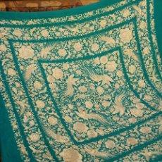 Antigüedades - Maravilloso mantón antiguo - 156851741