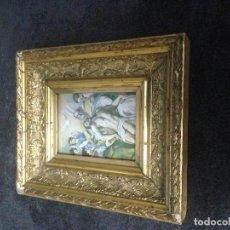 Antigüedades: MARCO EN PAN DE ORO AUTHENTICO. Lote 156856318