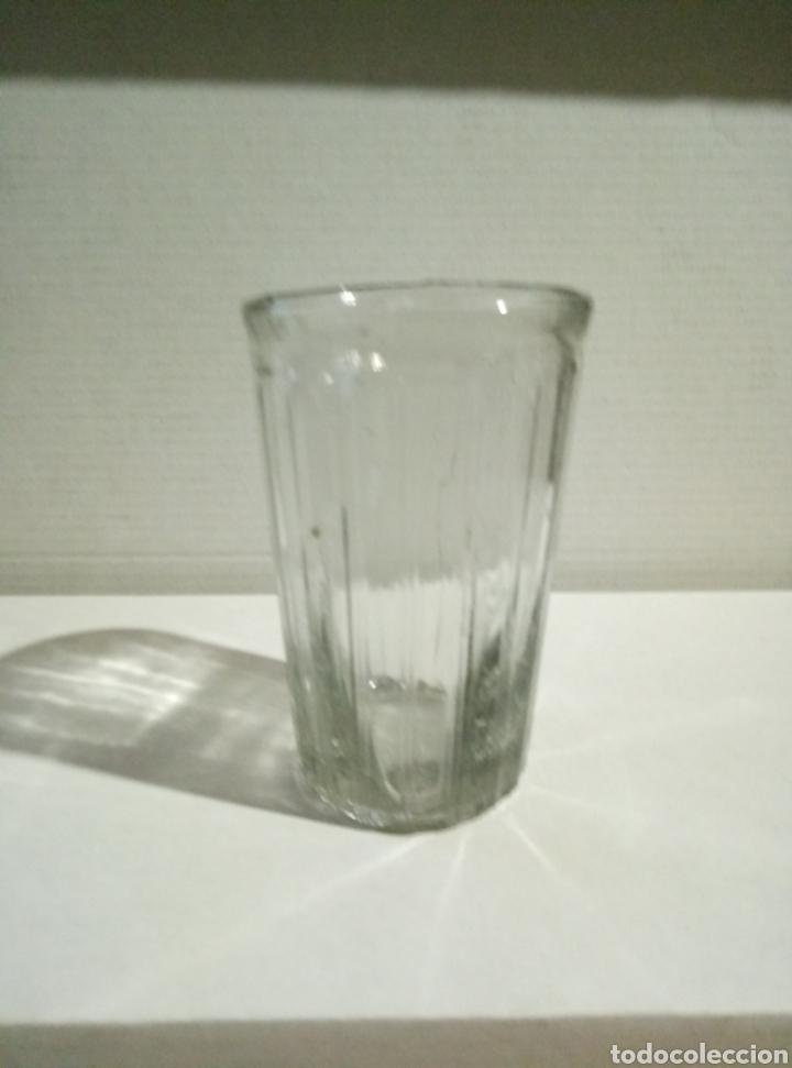 RARO VASO CRISTAL VIDRIO (Antigüedades - Cristal y Vidrio - Otros)