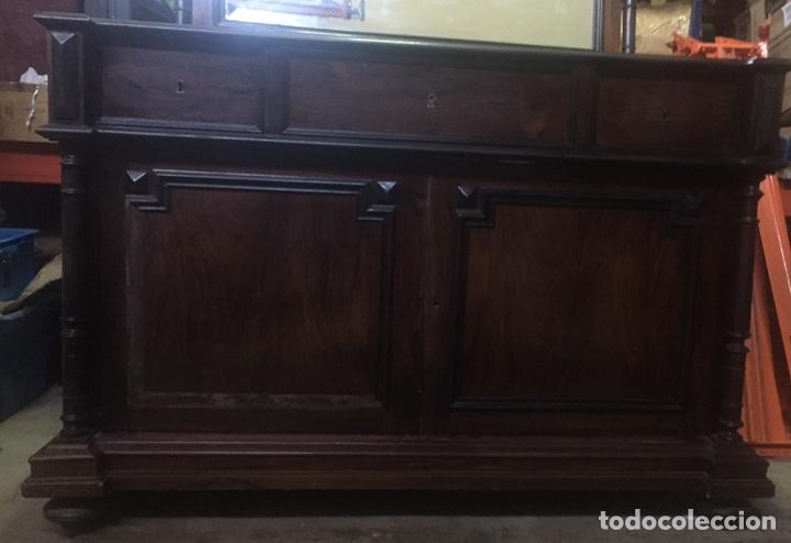 Antigüedades: Mueble de baño y espejo estilo alfonsino,No se hacen envíos solo recogida!!!! - Foto 2 - 156880544