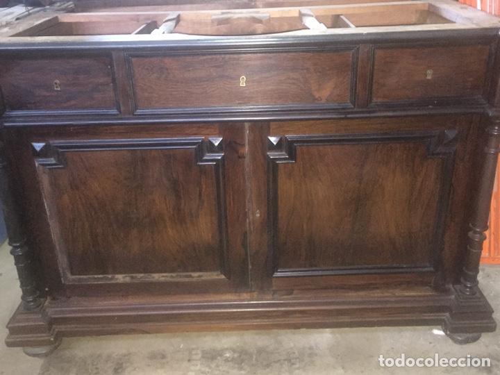 Antigüedades: Mueble de baño y espejo estilo alfonsino,No se hacen envíos solo recogida!!!! - Foto 4 - 156880544