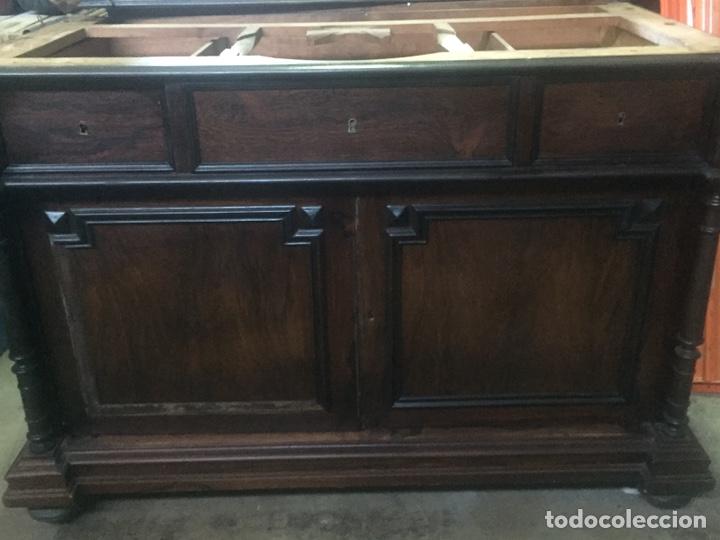Antigüedades: Mueble de baño y espejo estilo alfonsino,No se hacen envíos solo recogida!!!! - Foto 5 - 156880544