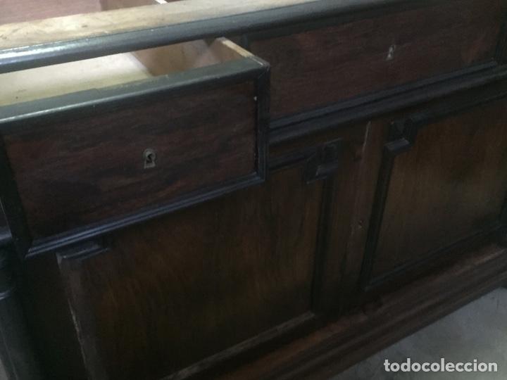 Antigüedades: Mueble de baño y espejo estilo alfonsino,No se hacen envíos solo recogida!!!! - Foto 6 - 156880544