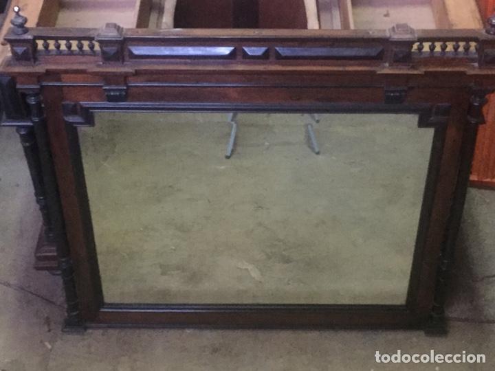 Antigüedades: Mueble de baño y espejo estilo alfonsino,No se hacen envíos solo recogida!!!! - Foto 8 - 156880544