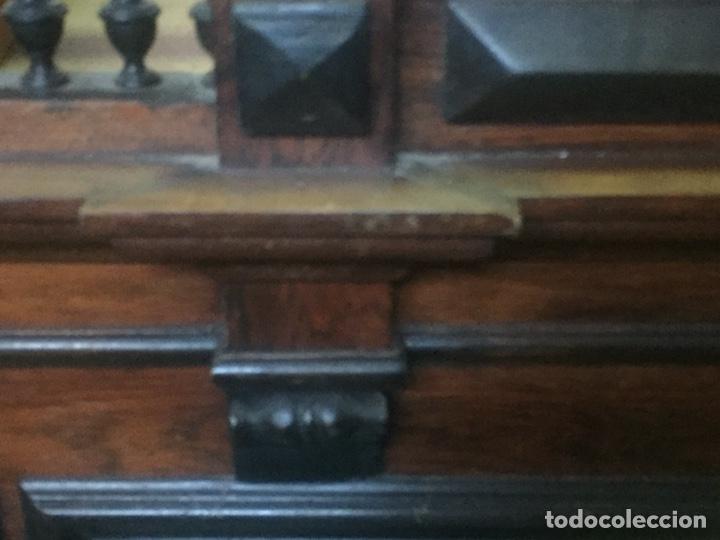 Antigüedades: Mueble de baño y espejo estilo alfonsino,No se hacen envíos solo recogida!!!! - Foto 9 - 156880544
