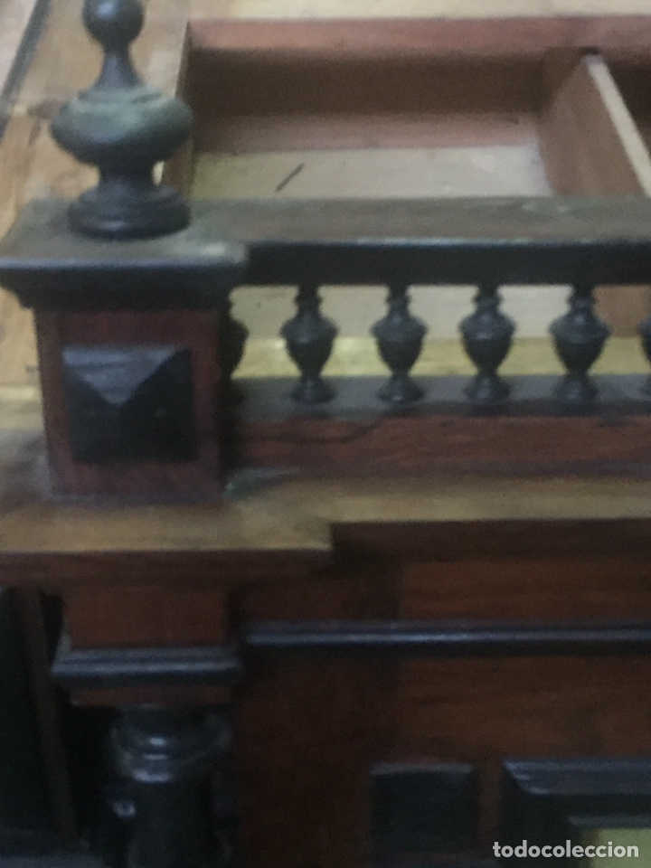 Antigüedades: Mueble de baño y espejo estilo alfonsino,No se hacen envíos solo recogida!!!! - Foto 10 - 156880544