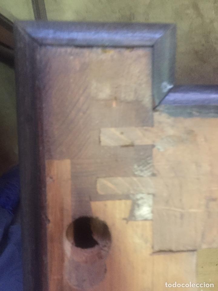 Antigüedades: Mueble de baño y espejo estilo alfonsino,No se hacen envíos solo recogida!!!! - Foto 16 - 156880544
