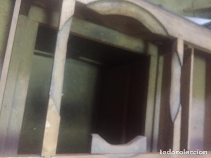Antigüedades: Mueble de baño y espejo estilo alfonsino,No se hacen envíos solo recogida!!!! - Foto 24 - 156880544