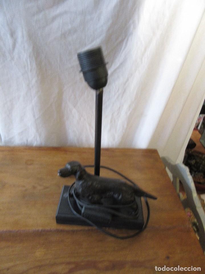 PIE DE LÁMPARA (Antigüedades - Iluminación - Lámparas Antiguas)