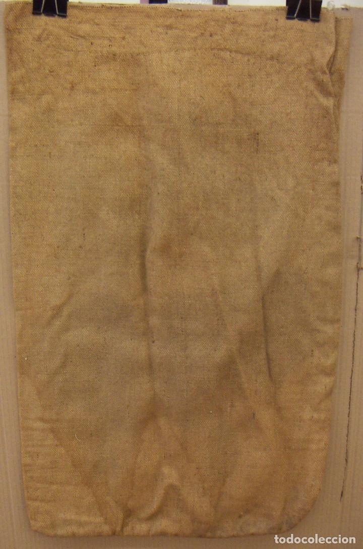 Antigüedades: SACO ARPILLERA YUTE HULETTS AZUCAR REFINADO - Foto 3 - 156883158