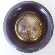 Antigüedades: CUADRO MADERA ANTIGUO. Lote 156883762