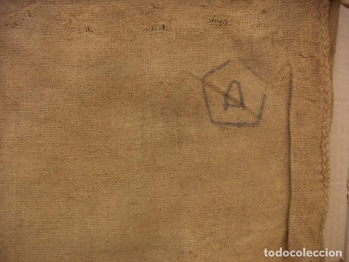 Antigüedades: SACO ARPILLERA YUTE AZUCARERA DE SALOBREÑA 60 KILOS - Foto 3 - 156886006