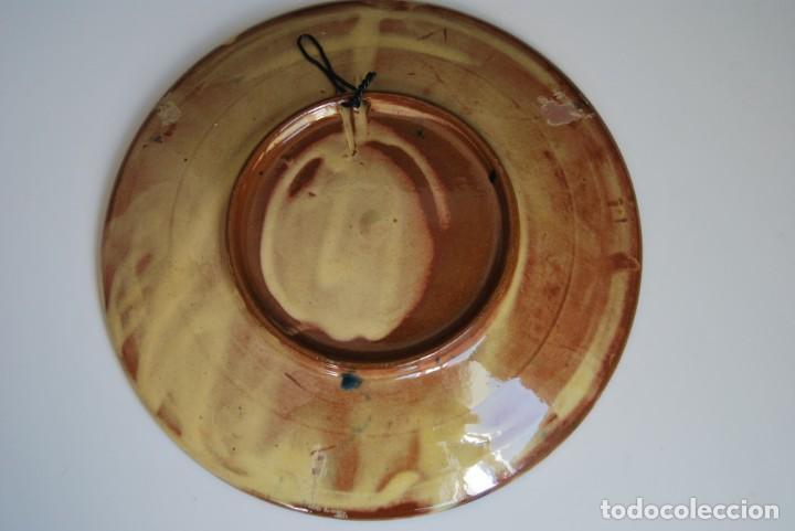 Antigüedades: PLATO DE CERÁMICA DE LA BISBAL - FRUTAS - Foto 3 - 156900862