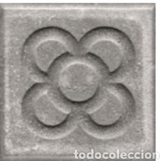 Antigüedades: PANOT FLOR BARCELONA NUEVO GRIS 20X20X4 CM. Lote 156916342
