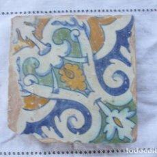 Antigüedades: AZULEJO DEL SIGLO XVII. Lote 156918334