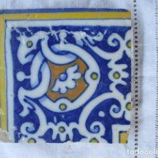 Antigüedades: AZULEJO DEL SIGLO XVII. Lote 156918614