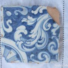 Antigüedades: AZULEJO DEL SIGLO XVII. Lote 156918806