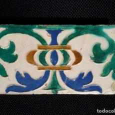 Antigüedades: BALDOSA AZULEJO MUEL S XVI. Lote 156969038