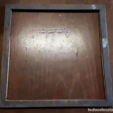 Antigüedades: MARCO DE MADERA, 32,5 X 32,5 CM. Lote 157010402