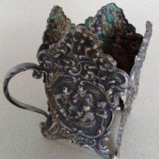 Antigüedades: ANTIGUO OBJETO DE PLATA.. Lote 157029734