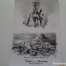 Antigüedades: BELMEZ. CORDOBA. VIRGEN DE LOS REMEDIOS. PATRONA. Lote 157083630