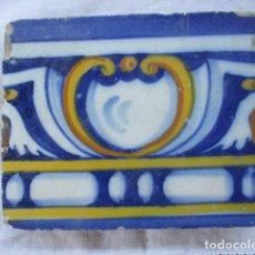 Antigüedades: AZULEJO DEL SIGLO XVI. Lote 157136794
