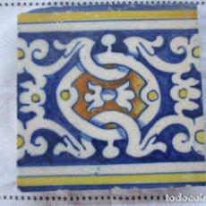 Antigüedades: AZULEJO DEL SIGLO XVI. Lote 157137062