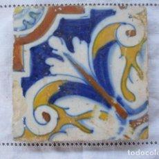Antigüedades: AZULEJO DEL SIGLO XVII. Lote 157137202