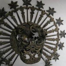 Antiquitäten - Corona para virgen en plata, sello del platero - 157201038