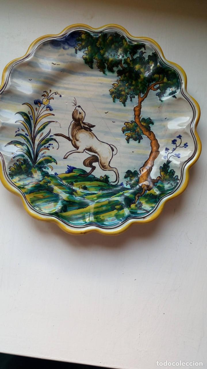 PLATO DE CERAMICA TALAVERA (Antigüedades - Porcelanas y Cerámicas - Talavera)