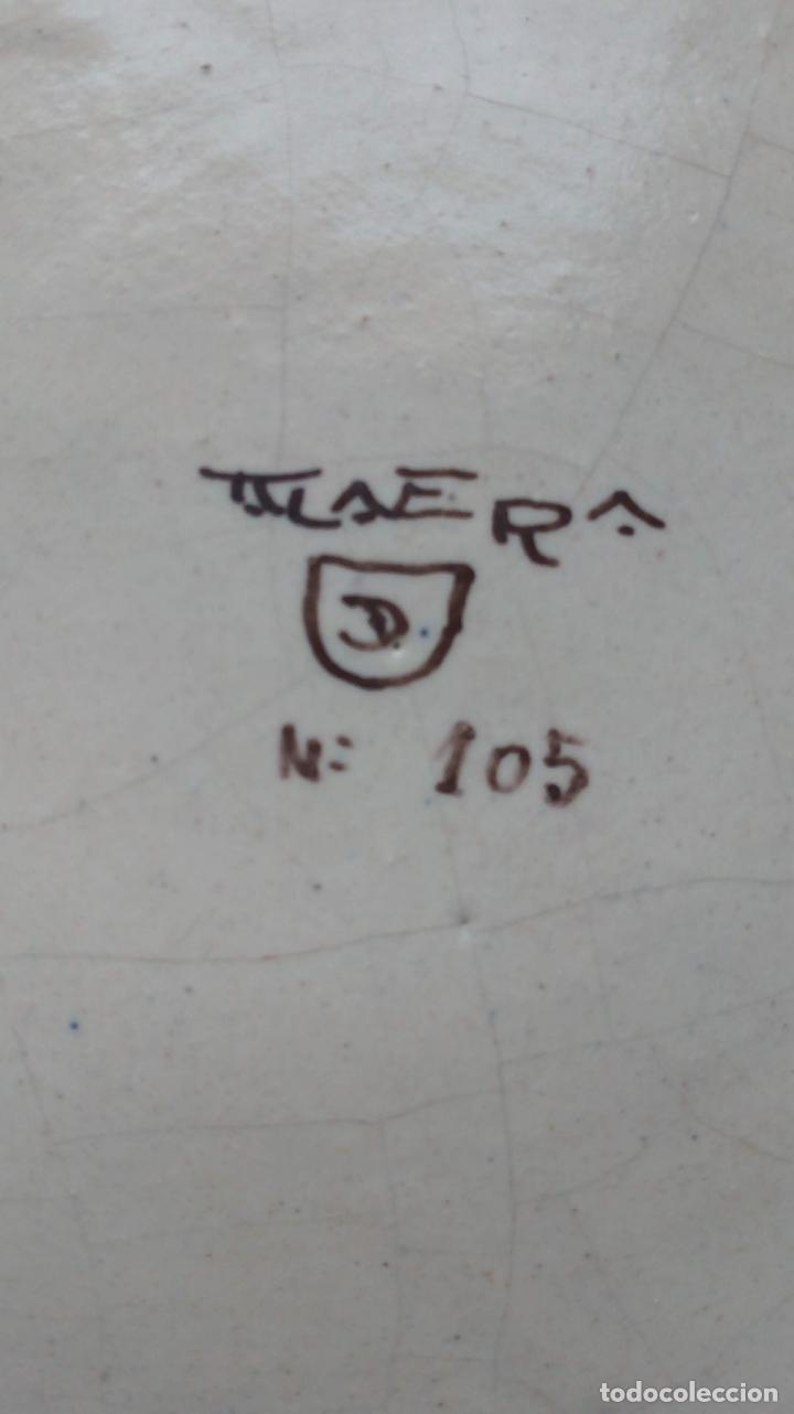 Antigüedades: PLATO DE CERAMICA TALAVERA - Foto 5 - 157216194