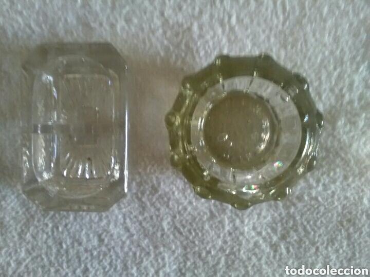 Antigüedades: Saleros de pellizco en cristal y vidrio - Foto 5 - 157227028