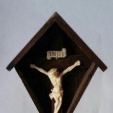 Antigüedades: CRISTO CRUCIFICADO - MINIATURA. Lote 157233506